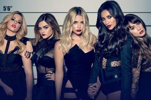 PRETTY LITTLE LIARS - Key Art. (Freeform) SASHA PIETERSE, LUCY HALE, ASHLEY BENSON, SHAY MITCHELL, TROIAN BELLISARIO