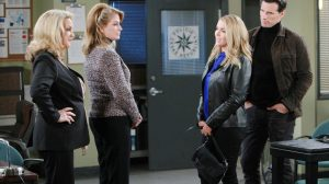 Carrie and Austin show up to get Marlena and Anna out of a tight situation.