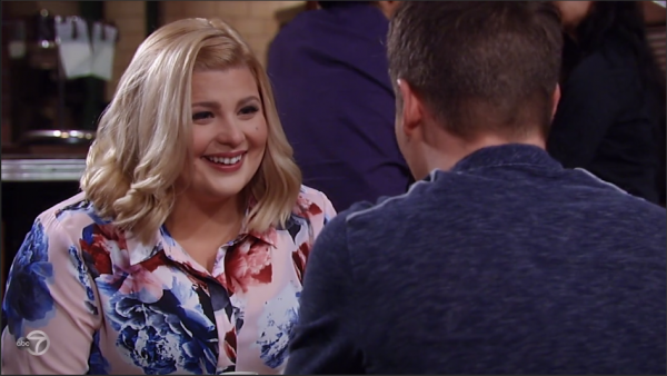 Amy is happy that Dillon remembers her.