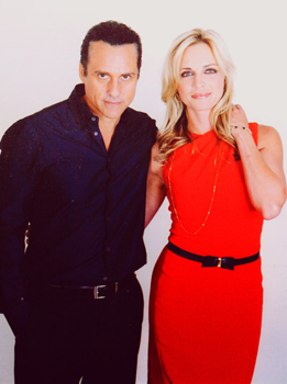 Maurice Benard and Kelly Sullivan