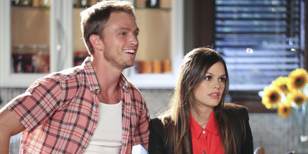 Wilson Bethel and Rachel Bilson