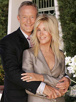 Ted Shackelford and Joan Van Ark