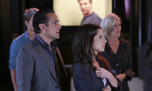 "GENERAL HOSPITAL - Chad Duell (Michael), Maurice Benard (Sonny), Kelly Monaco (Sam) and Laura Wright (Carly) in a scene that airs the week of May 27, 2013 on ABC's ""General Hospital."" ""General Hospital"" airs Monday-Friday (2:00 p.m. - 3:00 p.m., ET) on the ABC Television Network. GH13 (ABC/Ron Tom)"