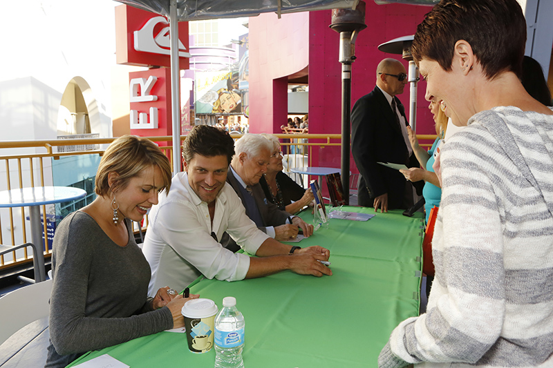 """DAYS OF OUR LIVES -- """"Universal Fan Event"""" -- Pictured: (l-r) Arianne Zucker, Greg Vaughan, Bill Hayes  -- (Photo by: Vivian Zink/NBC)"""