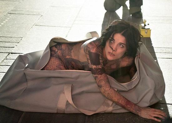 "BLINDSPOT -- ""Pilot"" --  Pictured: Jamie Alexander as Jane Doe -- (Photo by: Virginia Sherwood/NBC)"