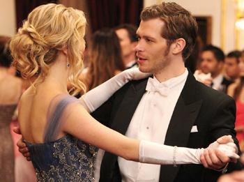 Candice Accola and Joseph Morgan
