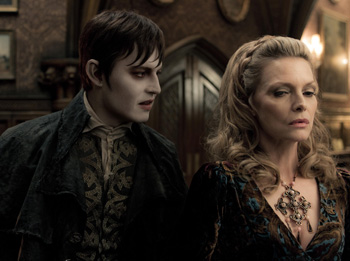 Johnny Depp and Michelle Pfeiffer